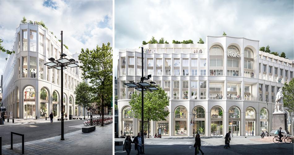 Nieuwe KdG-campus op de Meir in Antwerpen