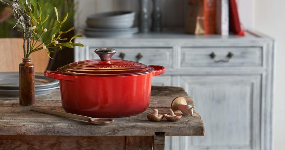 Le Creuset: kwaliteitsvol keukenmateriaal