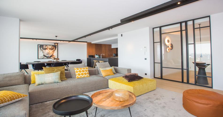 Luxe appartement aan de kust te huur in Oostende