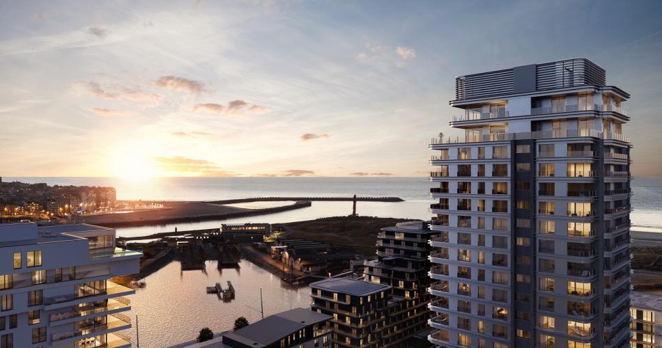 Luxe appartement met zee uitzicht in Oostende